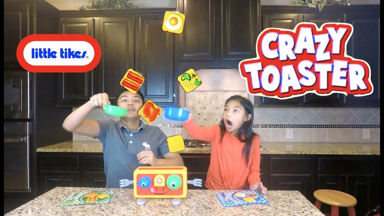 Little Tikes Crazy Toaster Action- & Spielfiguren