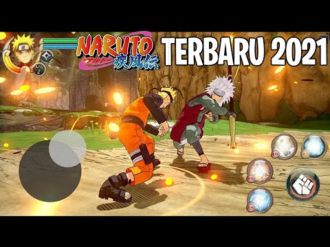 GAME NARUTO TERBAIK DI ANDROID TERBARU 2021