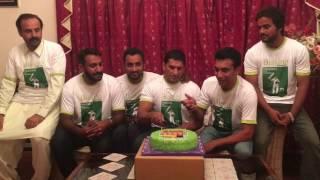 Younis Khan Fans Celebrate Younis  khan Performance