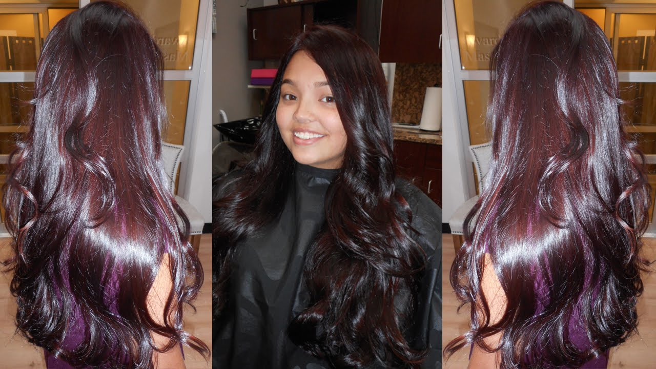 Mulberry Hair Color YouTube