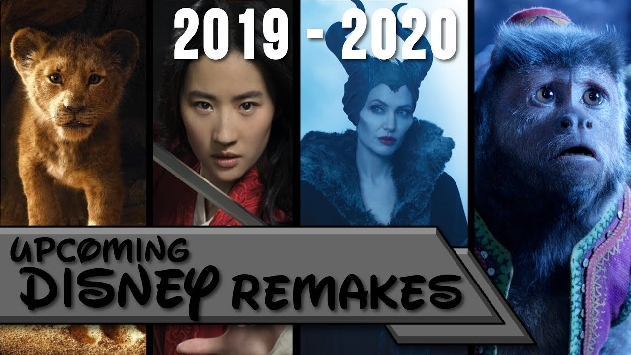 Upcoming Disney Live Action Movies 2019-2020 - YouTube