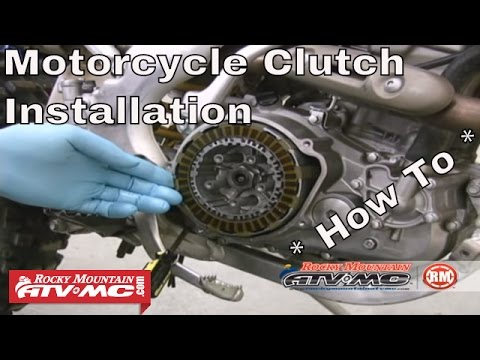 Clutch Replacement on a Motorcycle or ATV - Clutch Installation