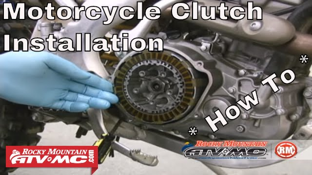 clutch replacement on a motorcycle or atv