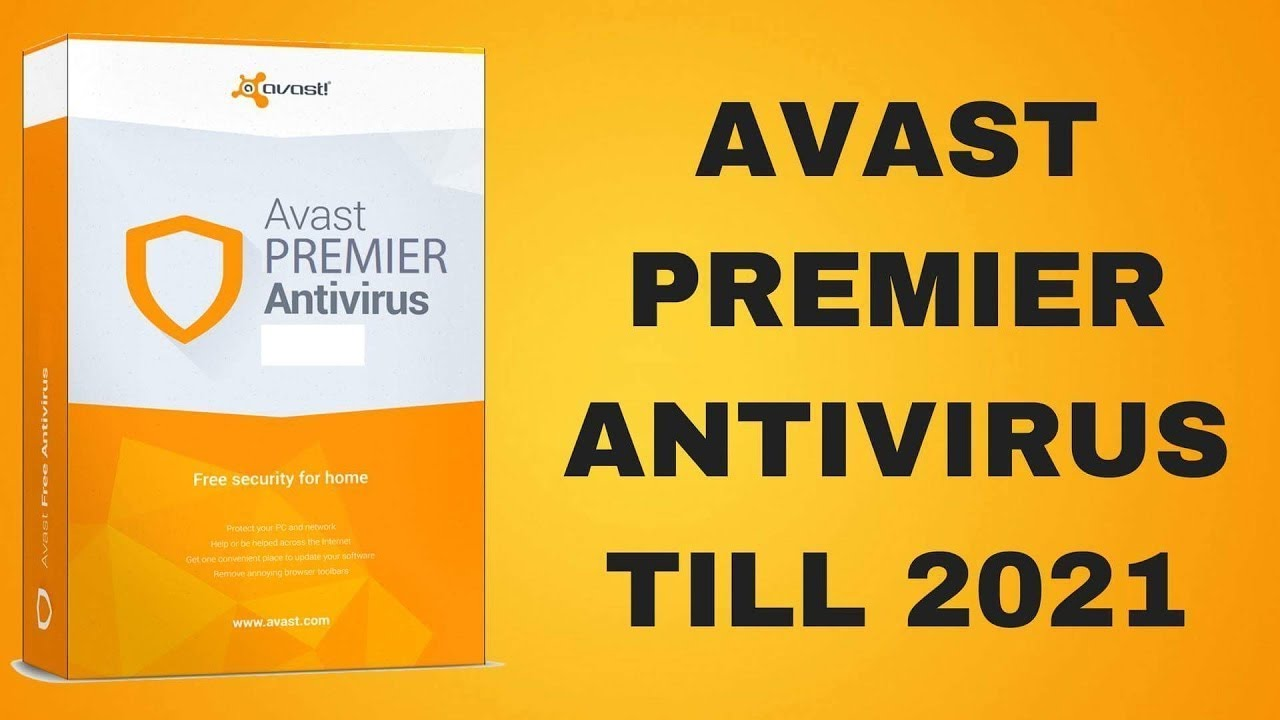 Avast Premier 18.5.2342 license key activation code - YouTube