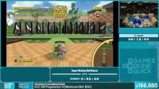 Super Monkey Ball Deluxe by Geoff in 38:19 - Summer Games Done Quick 2015 - Part 32