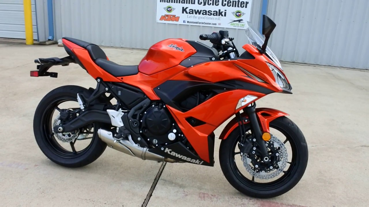 sale 6 499 2017 kawasaki ninja 650 abs candy burnt orange overview and review youtube. Black Bedroom Furniture Sets. Home Design Ideas