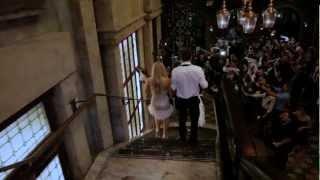 Elegant Wedding filmed at Biltmore and Cruz Building in Miami, Florida