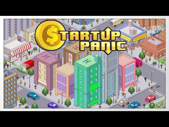 Divertido e fácil de aprender: Startup Panic - Gameplay 1080p 60fps