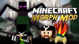 Minecraft Mod: Morph Mod! (Morph into Pixelmon, Mutants, Etc!) [1.6]