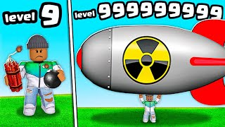 I GOT A LEVEL 999,999,999 ROBLOX BOMB