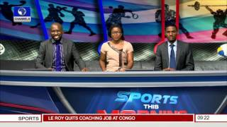 Sports This Morning: Are Nigerian Athletes Ready For 2016 Olympics? Prt.1 19/11/15