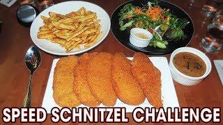 connectYoutube - Schnitzel Eating Challenge vs 3 Australian Bodybuilders!!