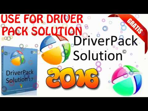 How to use driver pack solution 2016