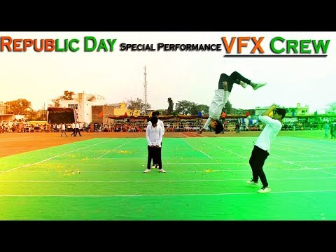 2019: Special Dance Performance - Republic Day | 26 January 2019 - VFX Crew