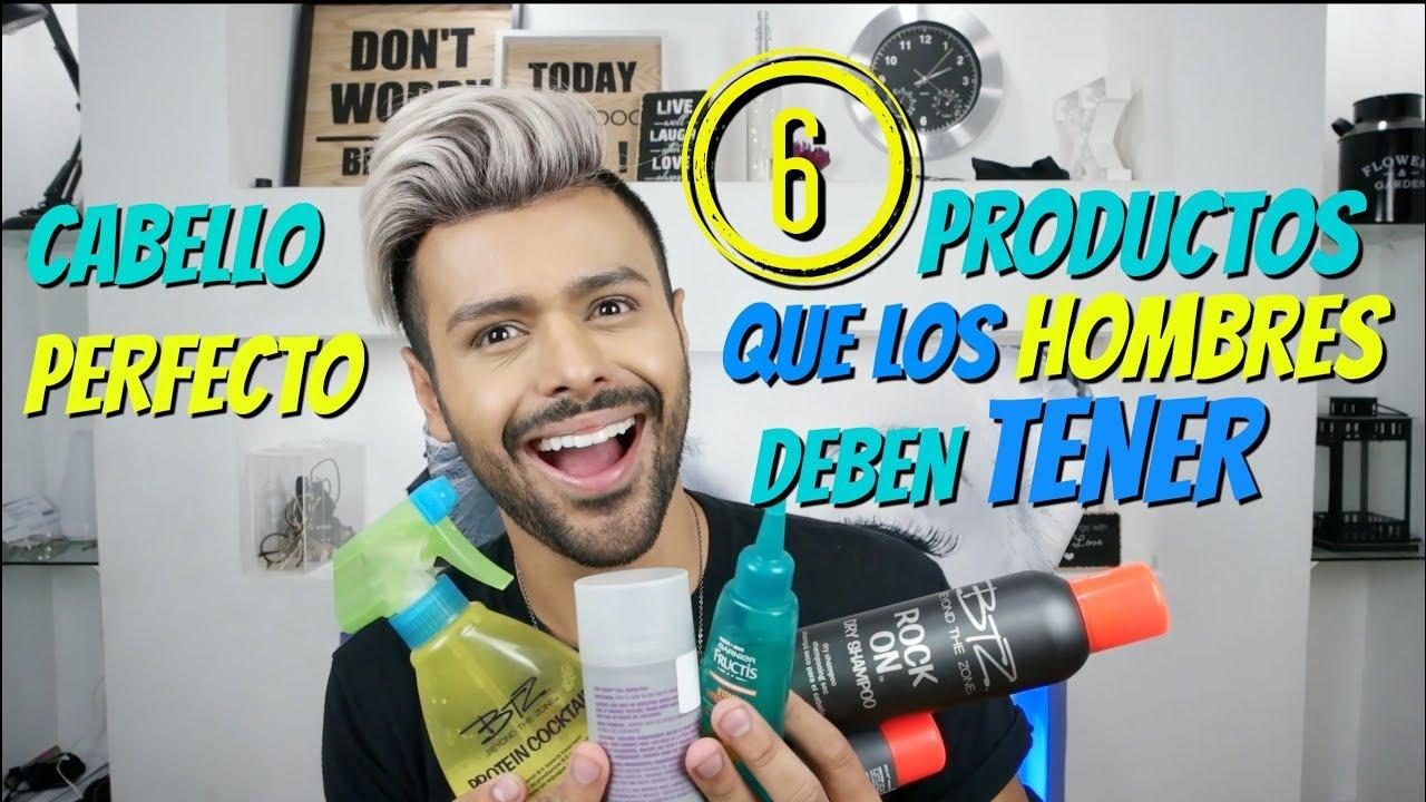 Productos Para El Cabello Que Todo Hombre Debe Tener Xelbor Youtube