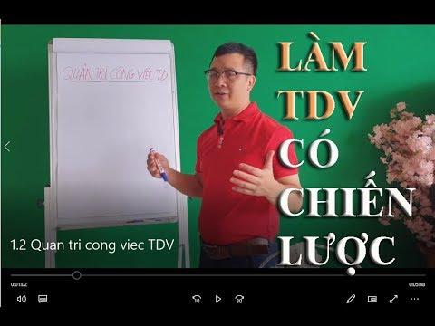 Quản Trị Công Việc Trình Dược Viên - Trích Từ Khóa Học TDV ETC Bệnh Viện Phòng Khám