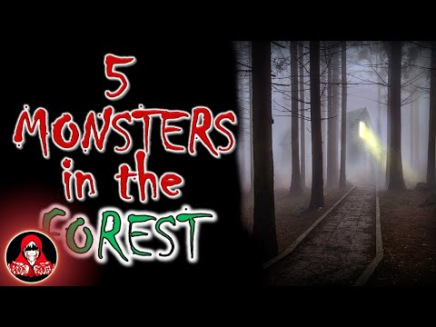 5 REAL Monsters in the Forest