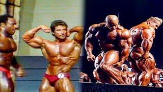 Bodybuilders Then And Now - Oldschool Vs Newschool Bodybuilding