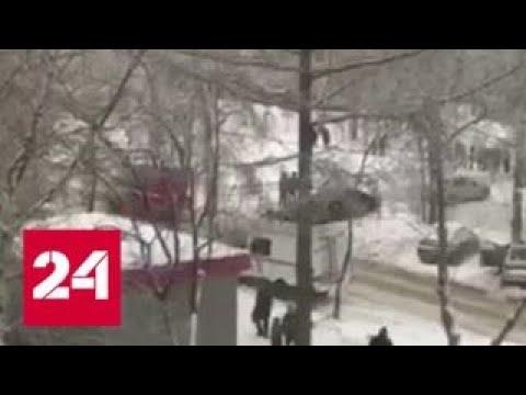 Поножовщина в пермской школе: пострадали учительница и 8 детей - Россия 24