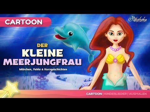 Die kleine Meerjungfrau kinder geschichte - Gute Nacht Geschichte | Märchen für Kinder
