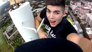 Climbing a Really TALL BUILDING
