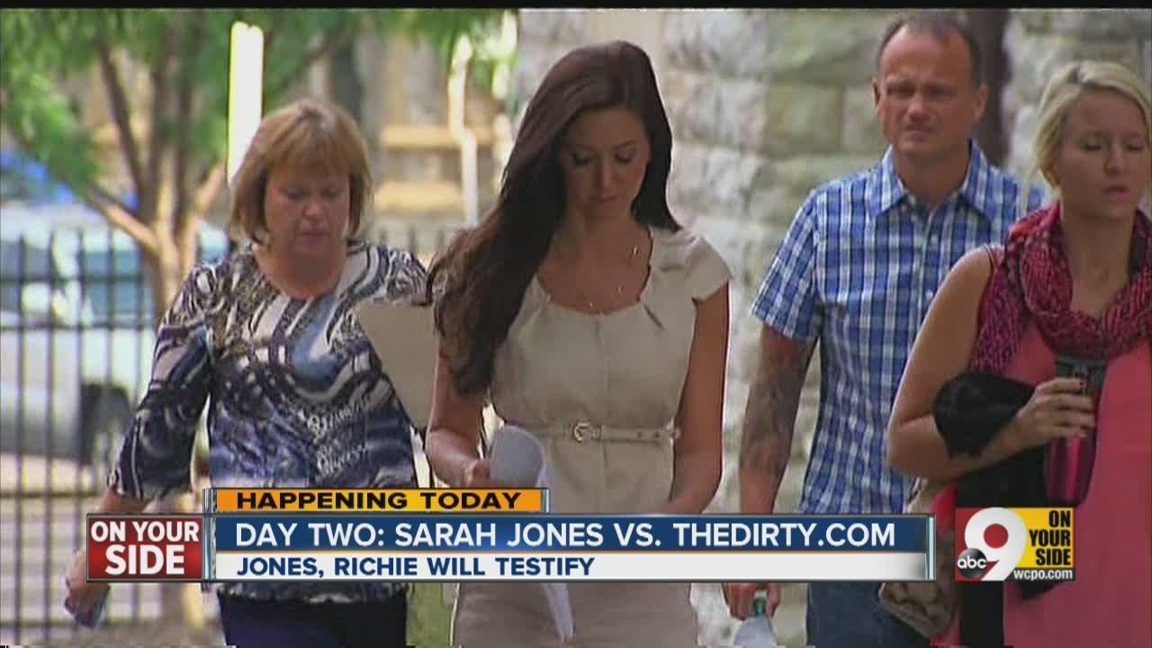 Sarah Jones Vs. The Dirty.com: Day 2