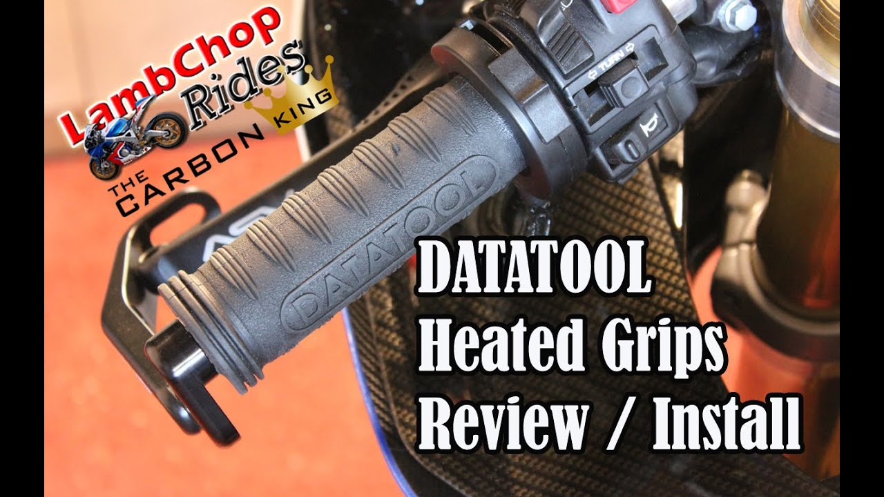 Heated Grips Install Review Datatool Therma Grip Youtube