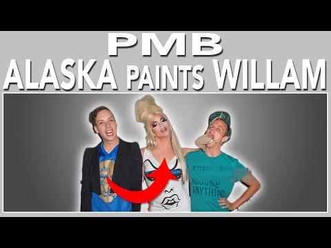 PMB: #AAAGirls Alaska paints WILLAM