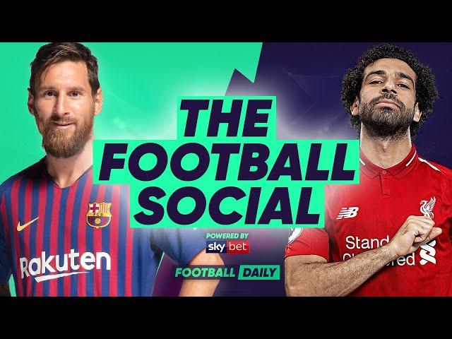 Barcelona 3-0 Liverpool | Messi Scores Wonder Free-kick | #TheFootballSocial