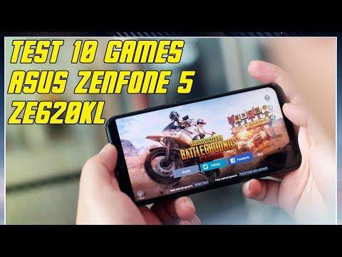Test 10 Game | Asus Zenfone 5 ZE620KL Indonesia