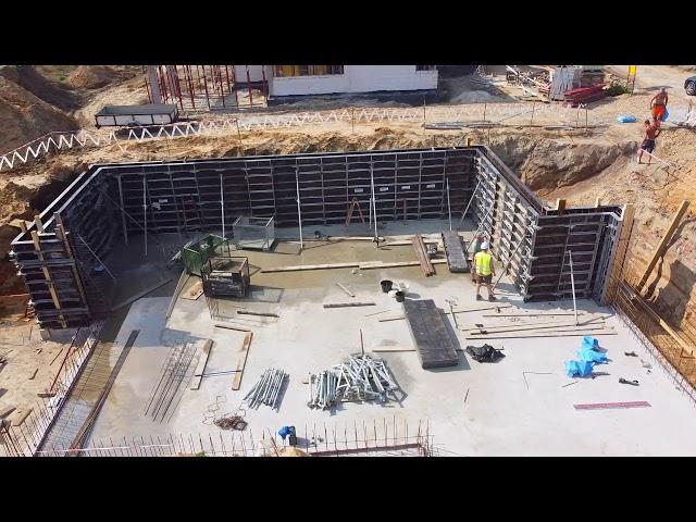 Szalowanie ścian domu jednorodzinnego | Kraków, Kaczorówka | #Szalunki #RASTO #Budowa