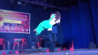 Anu shah and puspa khadka live dance performance in Mumbai show
