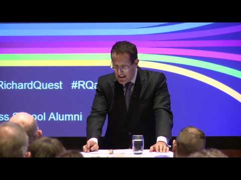 Leeds University Business School Annual Alumni Lecture 2012, with Richard Quest (full)