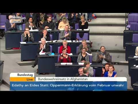Bundestag: Debatte zum Bundeswehreinsatz in Afghanistan mit Ursula von der Leyen am 18.12.2014