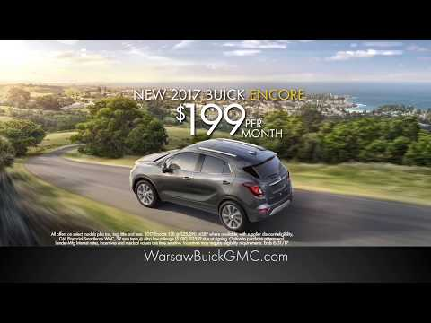 Experience The New Buick Encore At Warsaw Buick GMC