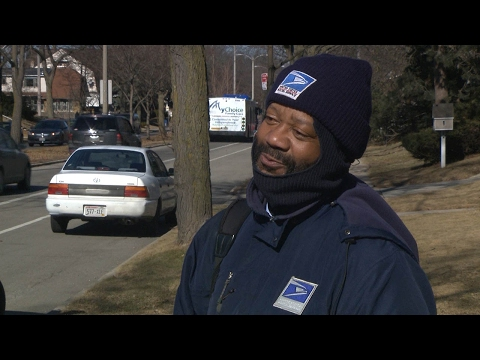 Mailman thought news story was about cold weather It was about him