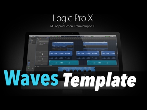 how to add waves plugins to logic pro x