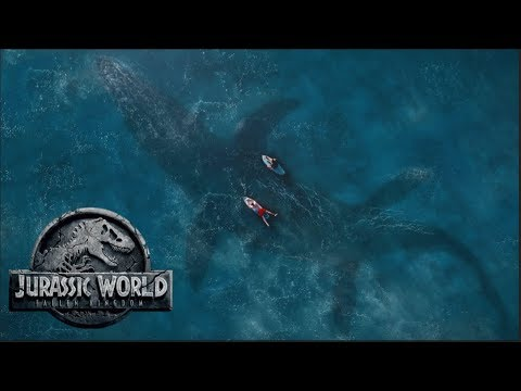 Top 3 Underwater Mosasaurus Scenes In Jurassic World 3 | New Ideas & Concepts