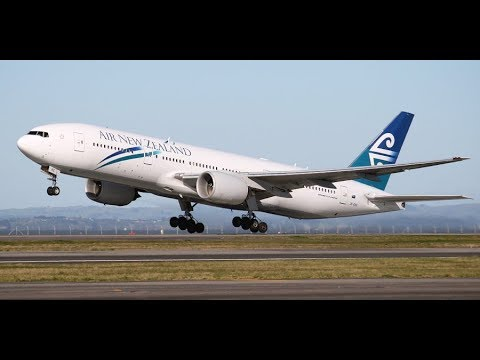 Air New Zealand B777, Premium Economy.  The friendliest airline to the my 100th country!