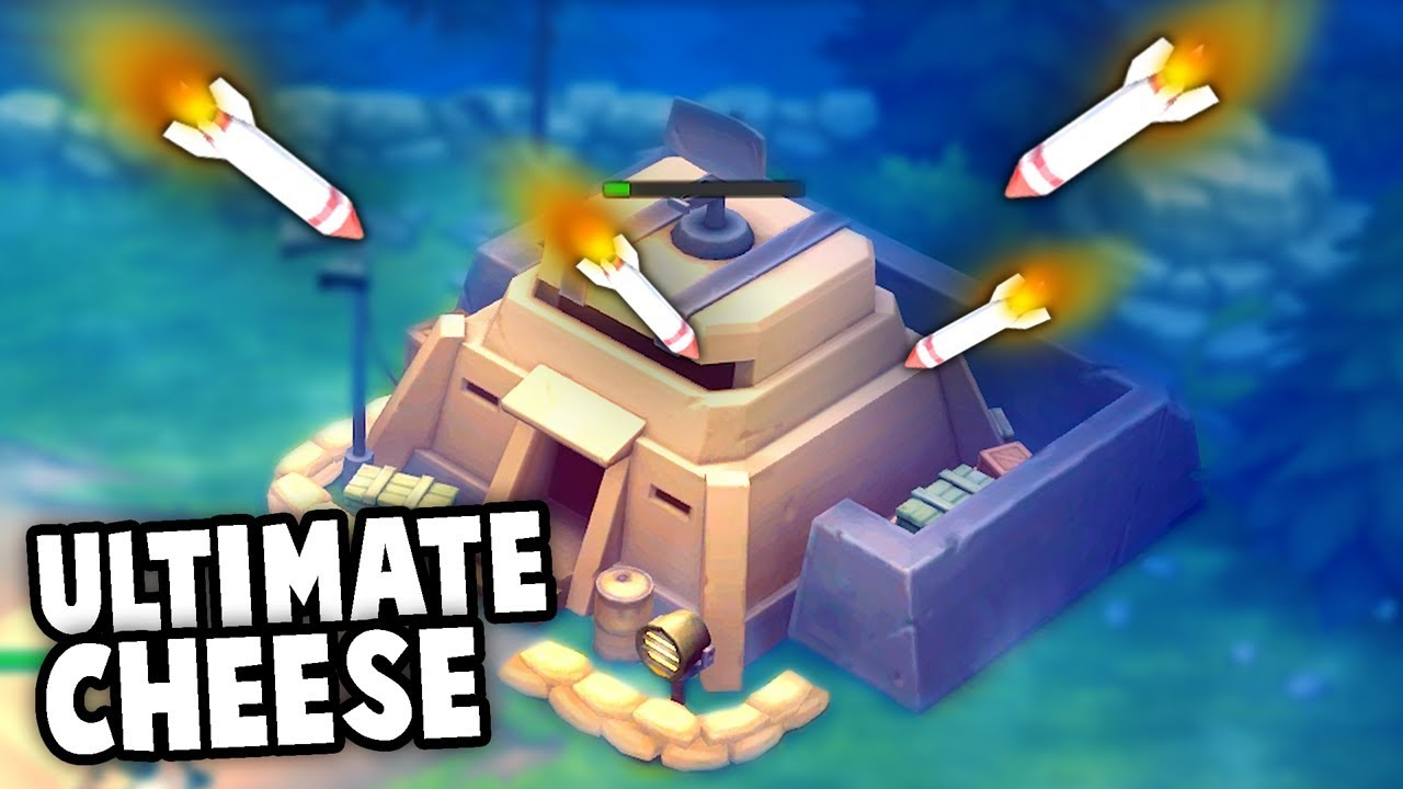 The ULTIMATE Cheesy OP Strategy!  (Guns Up! New Update Gameplay)