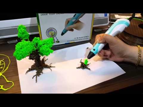 ปากกา 3 มิติ สาธิตการใช้งานปากกาสามมิติ โดย Idea2click