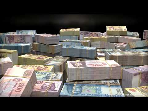 BILLIONS of HUNGARIAN FORINT :: Wealth Visualization, Manifestation, Abundance HD