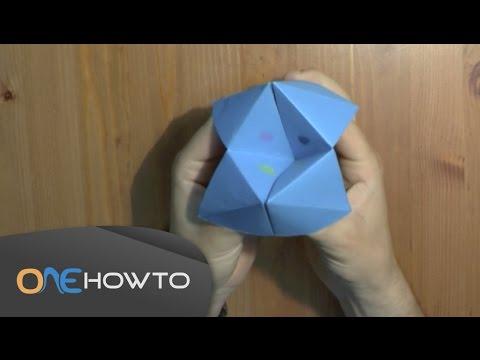 Origami Fortune Teller Easy Instructions Youtube