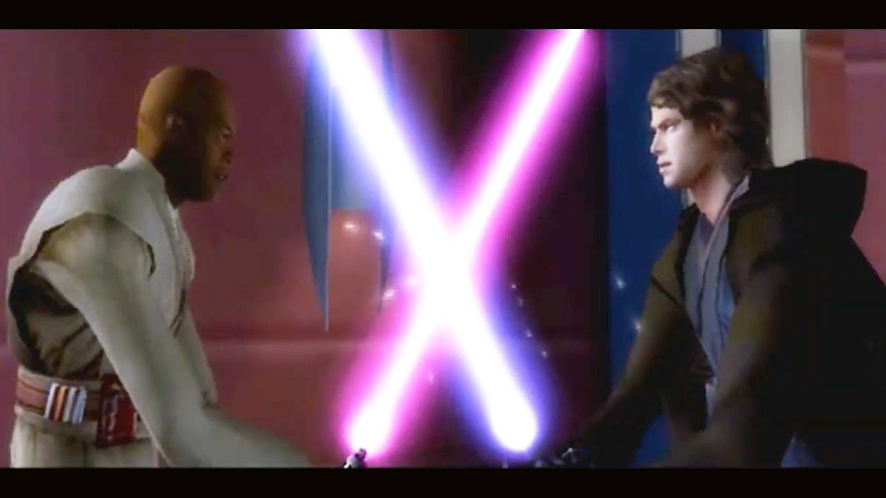 Anakin Kills Mace Windu Alternate Duel