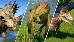 ALL 56 DINOSAURS - Jurassic World Evolution