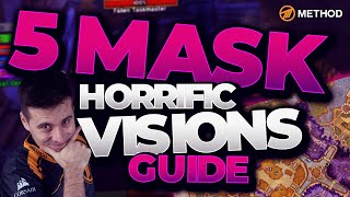 Horrific Vision Guide   Stormwind 5 Mask 100% Completion ★ALL SECRETS★