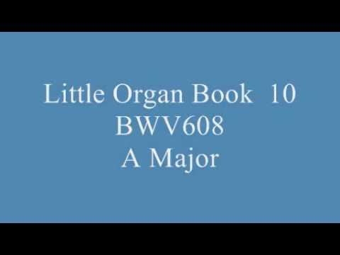 J.S.Bach Little Organ Book BWV599 - BWV644