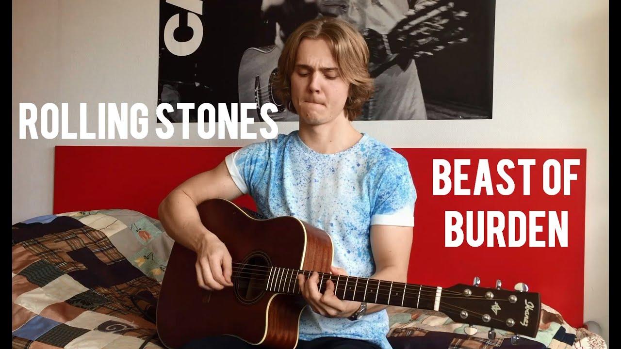 Download The Rolling Stones - Beast of Burden Acoustic Jam (Meverick)