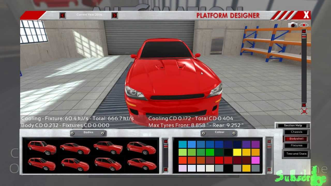 The Car Company >> Let S Build S1 E1 Automation The Car Company Tycoon Game Building A Coupe