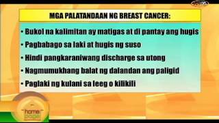 Itanong mo Kay Dok: Breast cancer with Dra. Rachel Rosario of Philippine Cancer Society